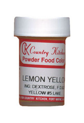 CK POWDERED COLOR-LEMON YELLOW-9 grams