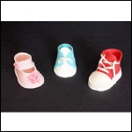 Fondant Baby Shoe Template | Fondant Baby Shoe Templates 3 Styles Downloadable Cake