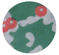 "CHRISTMAS CUPCAKE LINER--2"" Base, 1-1/4"" Wall --PKG/500"