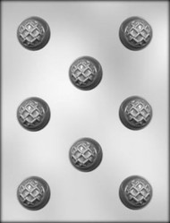 "1-1/2"" PB NUGGET CHOCOLATE CANDY MOLD"