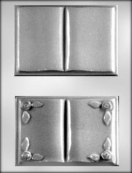 """5"""" OPEN BOOK CHOCOLATE CANDY MOLD"""