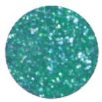 5 GRAMS DISCO GLITTER DUST - EMERALD GREEN