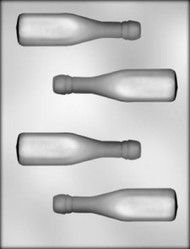 "4-5/8"" 3D CHAMPAGNE BOTTLE CHOCOLATE CANDY MOLD"