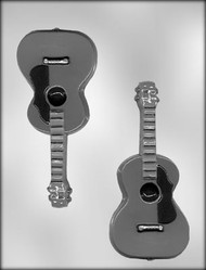 "6-1/4"" GUITAR CHOCOLATE CANDY MOLD"