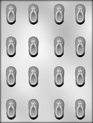 """1-1/2"""" BOOTIE CHOCOLATE CANDY MOLD"""
