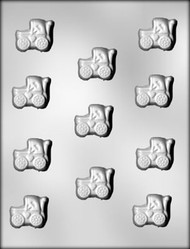 "1-3/8"" BABY BUGGY CHOCOLATE CANDY MOLD"
