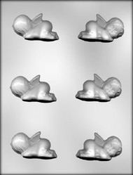 "2-1/2"" 3D BABY ANGEL CHOCOLATE CANDY MOLD"