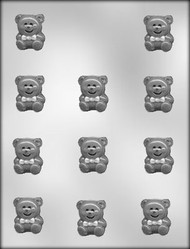 "1-1/4"" BEAR CHOCOLATE CANDY MOLD"