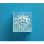 Clear Brooch Mold #33--Clear Silicone
