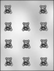 "1-1/8"" BEAR CHOCOLATE CANDY MOLD"