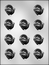"1-1/2"" TURKEY CHOCOLATE CANDY MOLD"