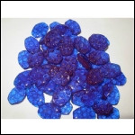 Blue Isomalt Tiles by SimiCakes--6 oz. Pkg.