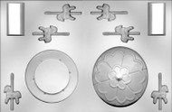 "4-5/8"" 3D CAROUSEL/HORSE CHOCOLATE CANDY MOLD"