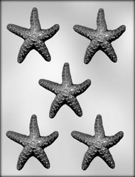 "3"" STARFISH CHOCOLATE CANDY MOLD"