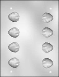 "1-1/2"" 3D CLAM CHOCOLATE CANDY MOLD"