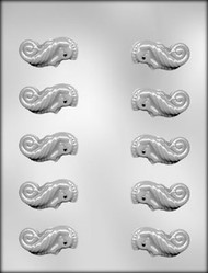 "2"" 3D SEAHORSE CHOCOLATE CANDY MOLD"