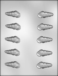 "2"" 3D SEASHELL CHOCOLATE CANDY MOLD"