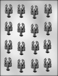 """1-5/8"""" LOBSTER CHOCOLATE CANDY MOLD"""