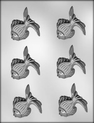 "2-1/2"" TROPICAL FISH CHOCOLATE CANDY MOLD"