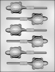 "2-1/2"" TURTLE SUCKER CHOCOLATE CANDY MOLD"
