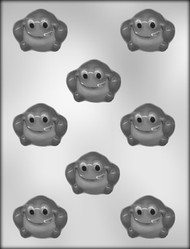 "2"" FROG CHOCOLATE CANDY MOLD"