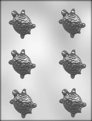 "2-1/4"" TURTLE CHOCOLATE CANDY MOLD."