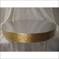 """Golden Elegance"" Cake Stand/Display Base--Choose From 14"", 16"", 18"", 20"" or 22"""