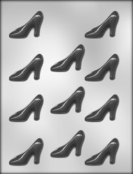 "2-1/4""HIGH HEEL SHOE CHOCOLATE CANDY MOLD"