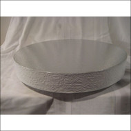 """Classic White"" Cake Stand/Display Base--Choose From 14"", 16"", 18"", 20"" or 22"""