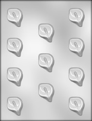 "1-1/2"" CALLA LILY CHOCOLATE CANDY MOLD"