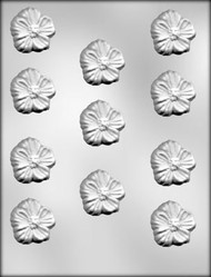 "1-5/8"" PRIMROSE CHOCOLATE CANDY MOLD"