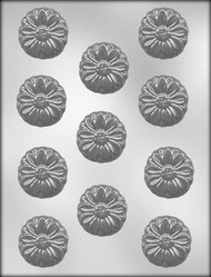 "1-3/4"" DAISY CHOCOLATE CANDY MOLD"