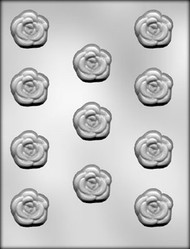 "1-3/8"" ROSE CHOCOLATE CANDY MOLD"