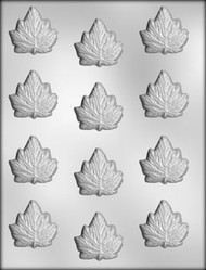 "1-3/4"" MAPLE LEAF CHOCOLATE CANDY MOLD"