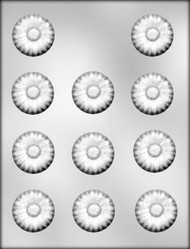 "1-1/2"" DAISY CHOCOLATE CANDY MOLD"