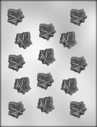 "1-1/4"" MAPLE LEAF CHOCOLATE CANDY MOLD"