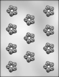 "1-1/4"" WILD ROSE CHOCOLATE CANDY MOLD"