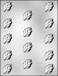 "1-3/8"" LEAF CHOCOLATE CANDY MOLD"