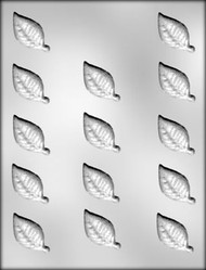 "1-3/4"" GARDENIA LEAF CHOCOLATE CANDY MOLD"