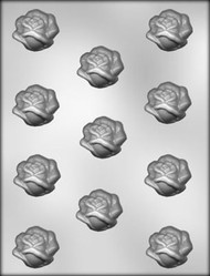 "1-1/2"" OPEN ROSE CHOCOLATE CANDY MOLD"