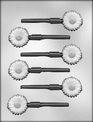 "1-1/2"" DAISY SUCKER CHOCOLATE CANDY MOLD"