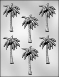 "3-1/2"" PALM TREE CHOCOLATE CANDY MOLD"