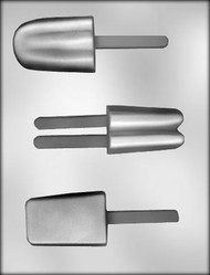 "3"" ICE CREAM BAR SUCKER CHOCOLATE CANDY MOLD"