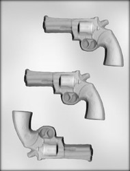 "4-3/8"" GUN CHOCOLATE CANDY MOLD"