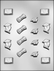 "1-1/8"" - 1-3/8"" GRAD ASSORTMENT CHOCOLATE CANDY MOLD"