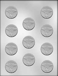 "1-1/2"" NURSE MINT CHOCOLATE CANDY MOLD"