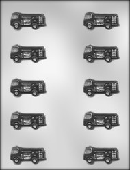 "1-3/4"" FIRE TRUCK CHOCOLATE CANDY MOLD"