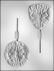 "3-1/2"" EMT SUCKER CHOCOLATE CANDY MOLD"