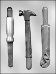 "8"" PRETZEL ROD -TOOL CHOCOLATE CANDY MOLD"