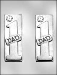 "6"" #1 DAD BAR CHOCOLATE CANDY MOLD"